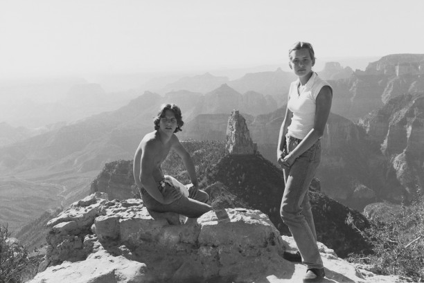 Erik and Anna Friedlander, Grand Canyon, Arizona, 1977