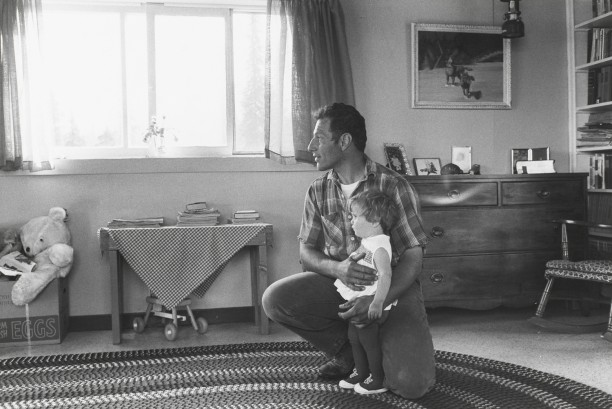 Joe Delia and His Daughter,  Alaska, 1967