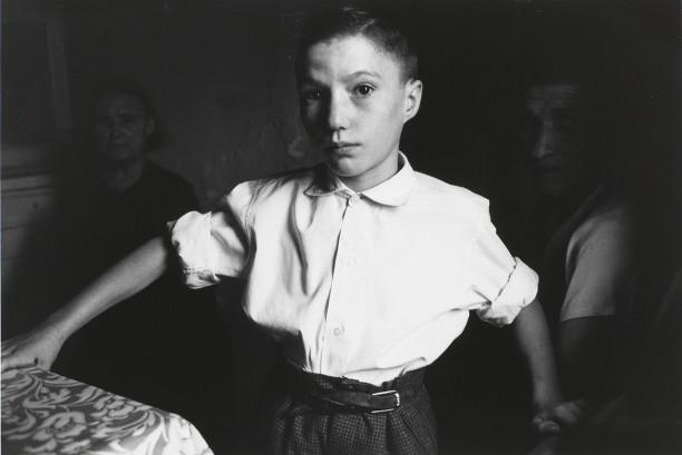 Boy in White Shirt, Burgos, Spain, 1964