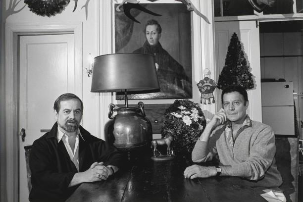 Robert Joffrey and Gerald Arpino, New York City, 1983