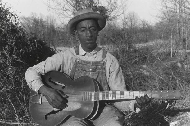 Fred MacDowell, Senatobia, Mississippi, 1960