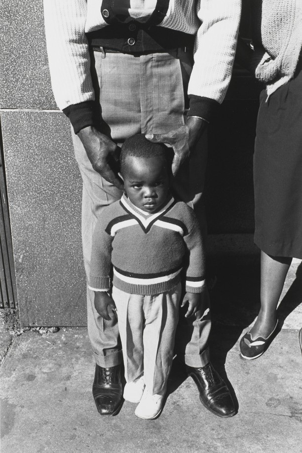 Boy with Parents, Newark New Jersey, 1963