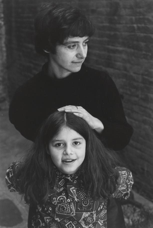 Diane and Amy Arbus, New York City, 1963