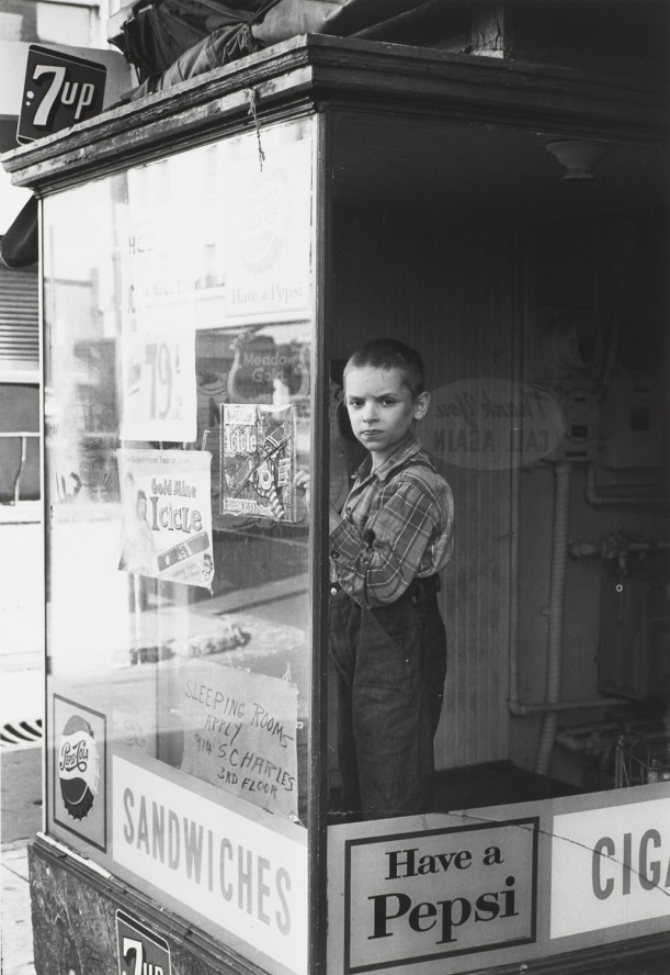 Boy in Window, Baltimore, 1962