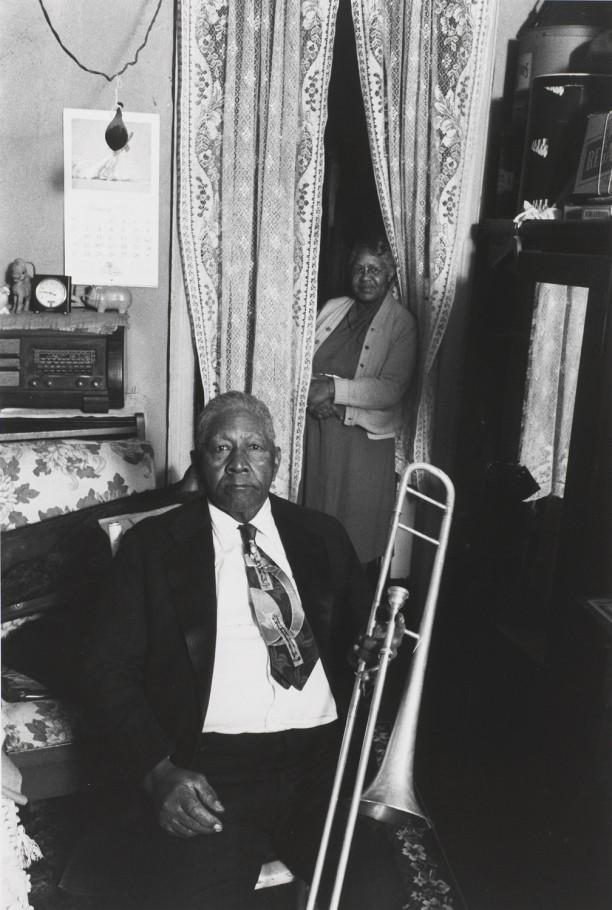 Mr. and Mrs. Eddie Morris, New Orleans, 1958