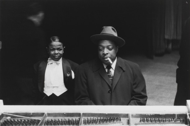 PeeWee Marquette and Count Basie, New York City, 1957