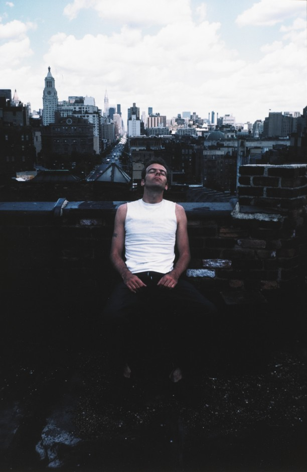 Brian on the Bowery roof, New York City