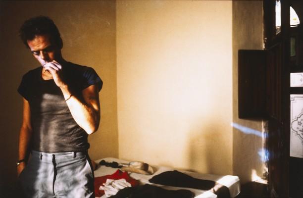 Brian in the hotel room, Merida, Mexico