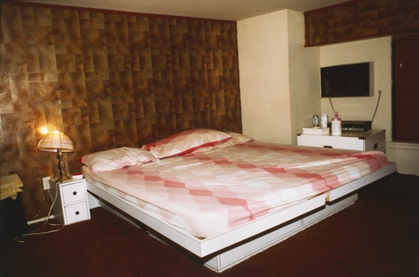 Empty bed in a whorehouse, New York City