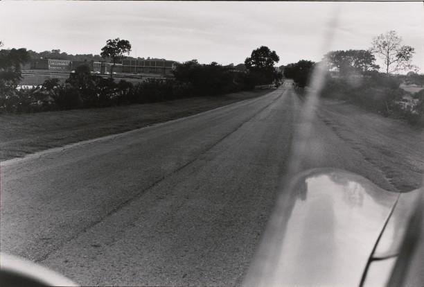 Untitled (landscape shot out of car window)