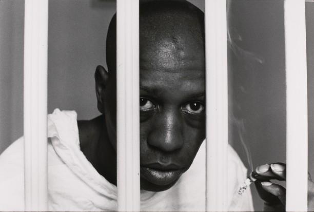 Schizophrenic inmate, imprisoned twenty years.