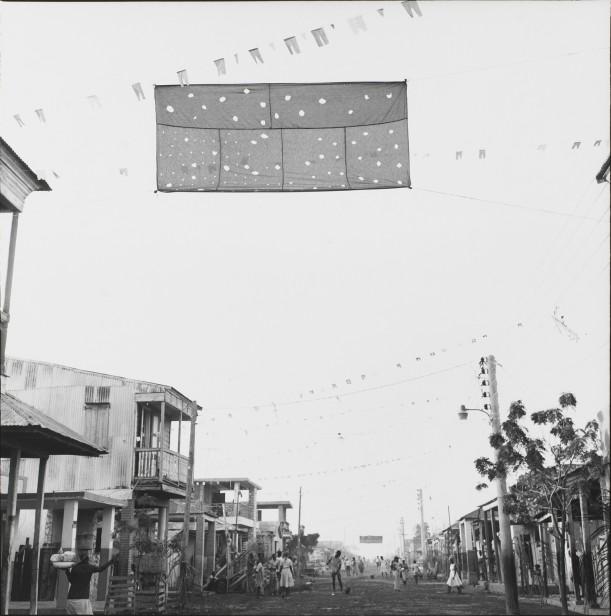 The revolutionary flag flies as Gonaïves celebrates February 10th