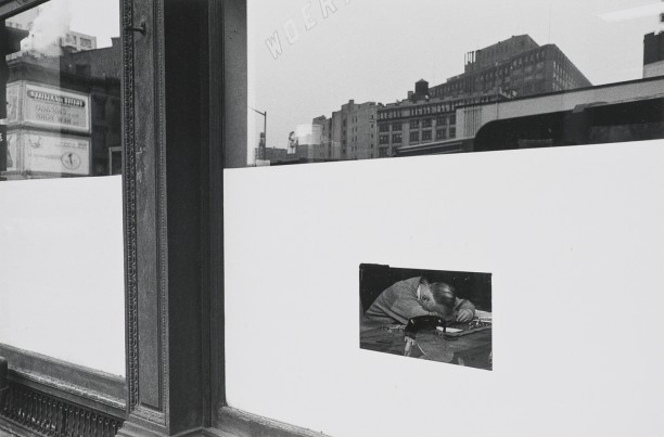 Untitled (Man in Window)