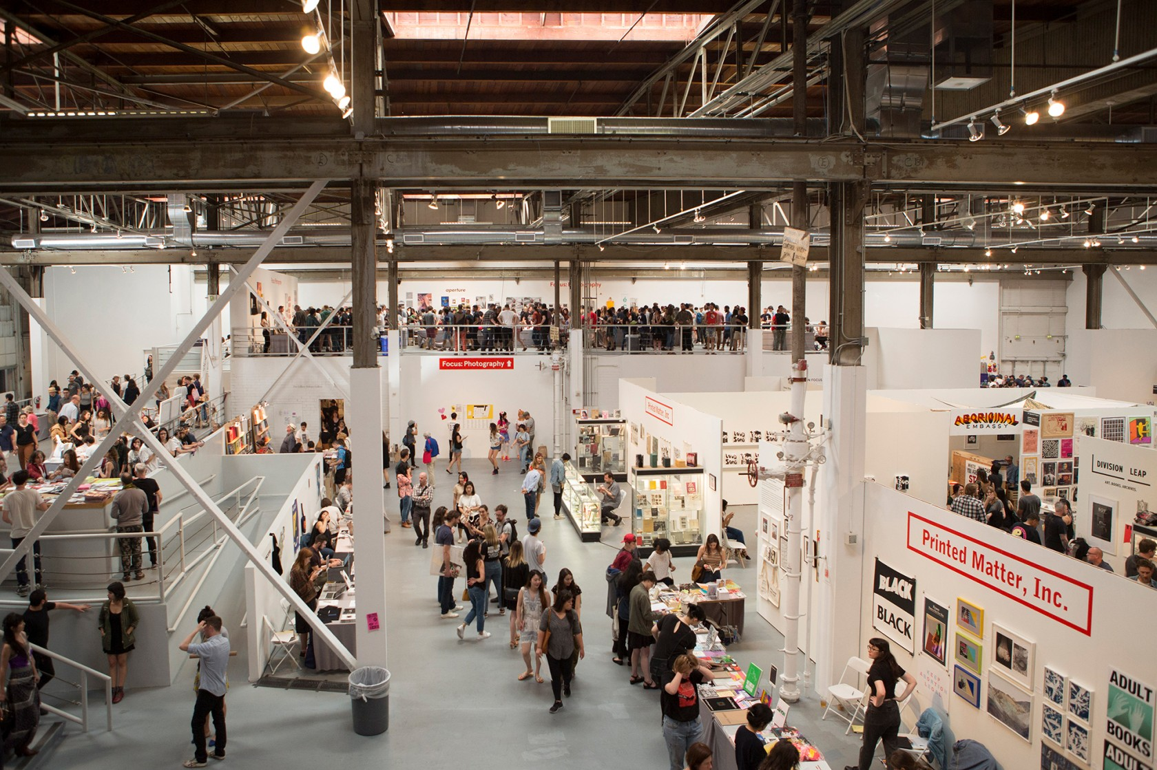 Book Sale at Printed Matter's L.A. Art Book Fair