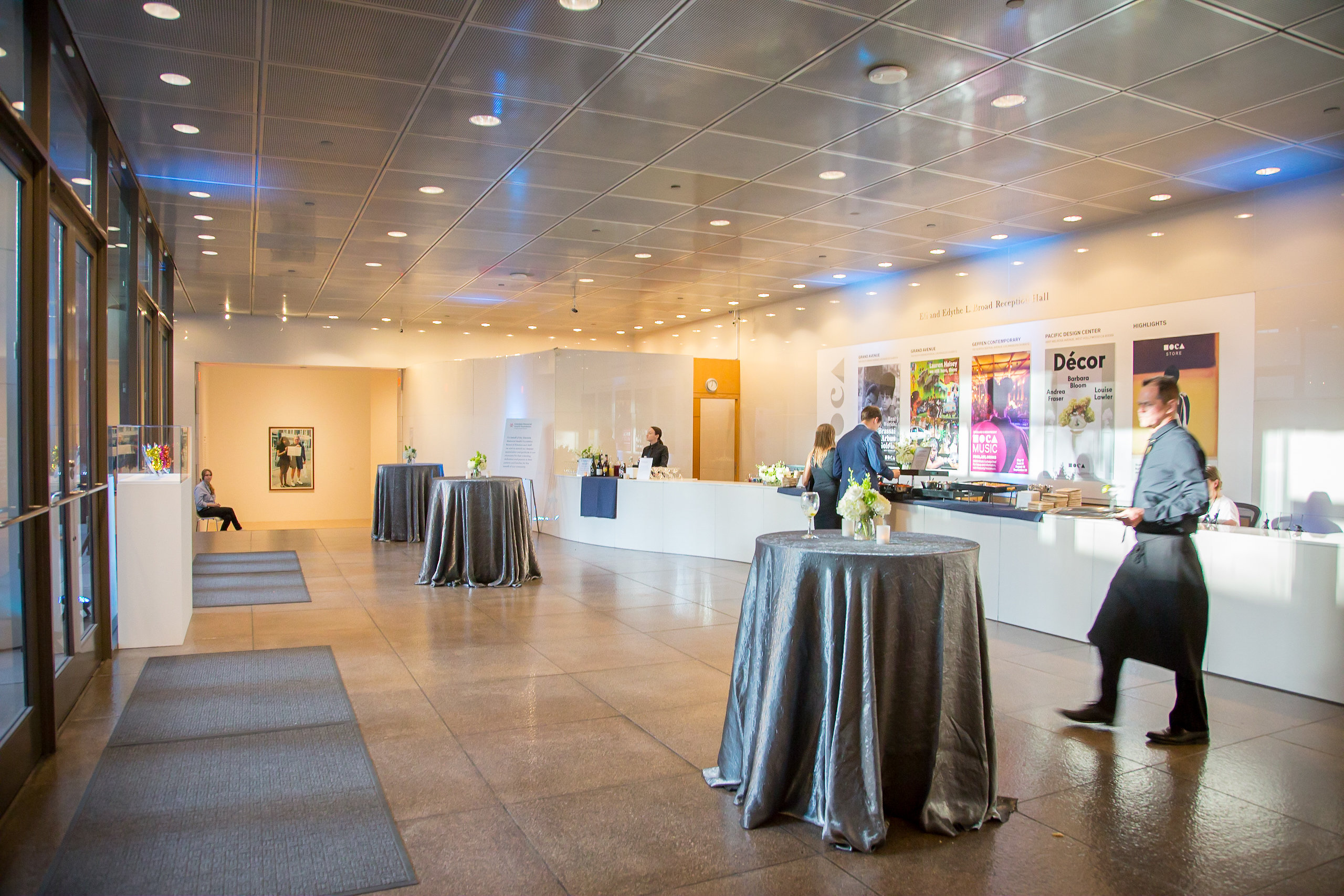 Eli and Edythe L. Broad Lobby, photo by Jonah Light Photography