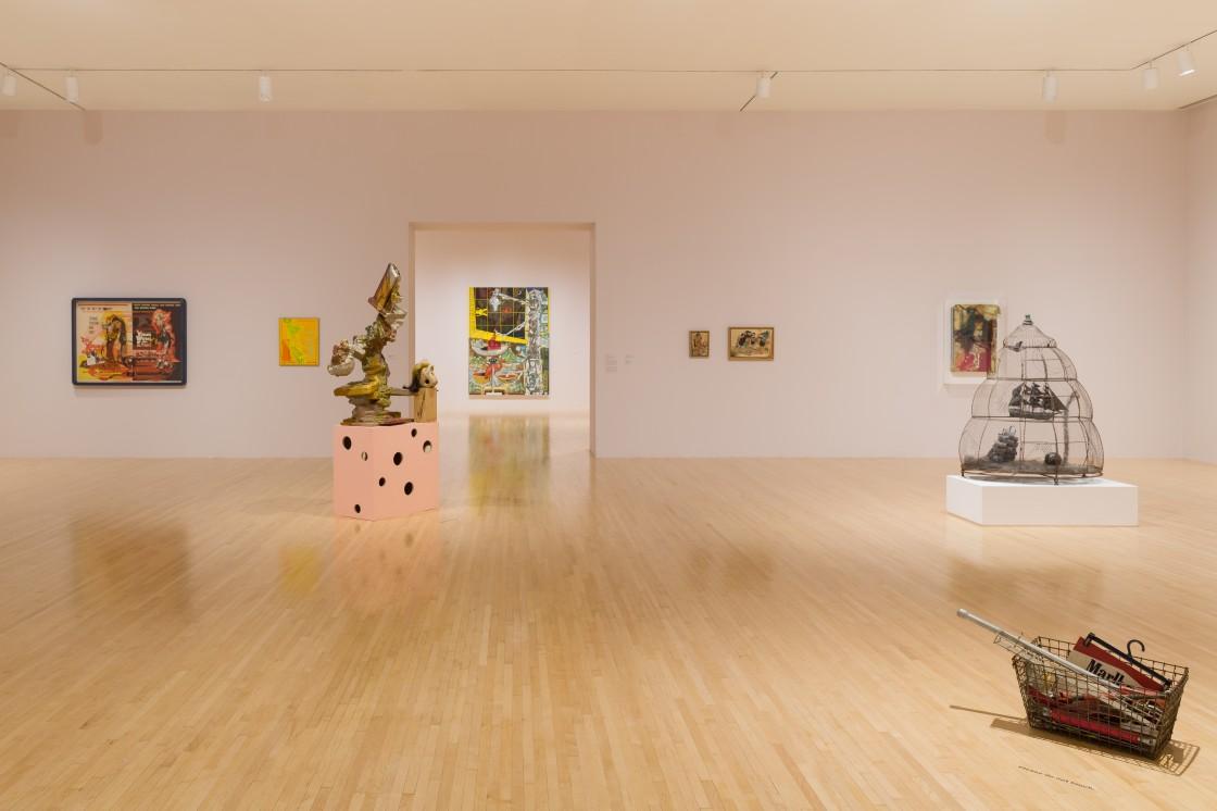 Open House: Elliott Hundley Installation View 05