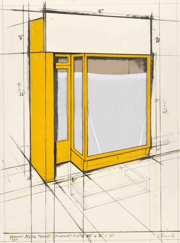 Yellow Store Front, Project (Hovdenakk No. 59)