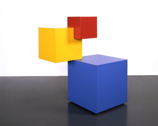 Untitled (Red/Yellow/Blue Cube)