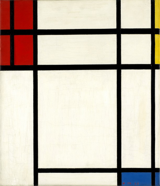 Composition of Red, Blue, Yellow and White: Nom III