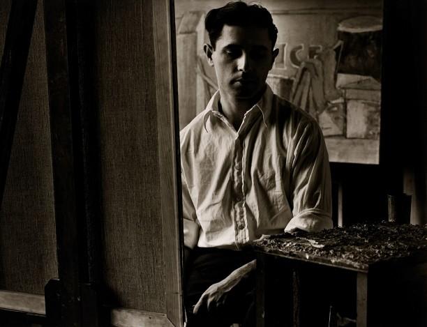 Joe Soloman In His Studio