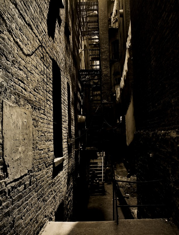 Tenement Back Alley