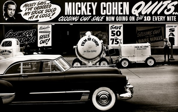 Mickey Cohen Quits