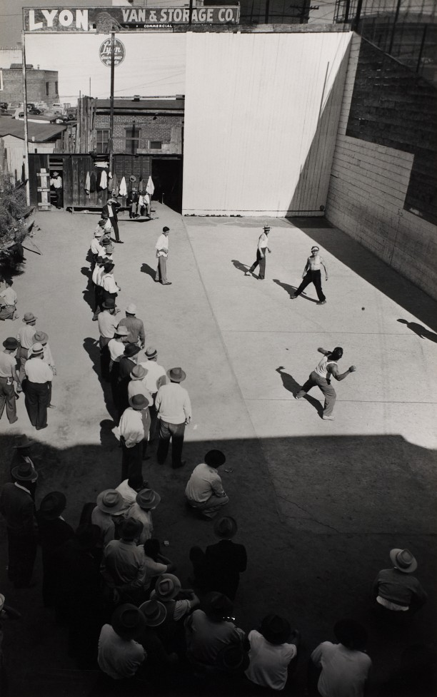 Playing Handball, East Los Angeles