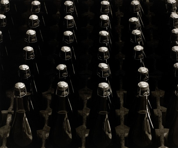 Champagne Aging in Bottles