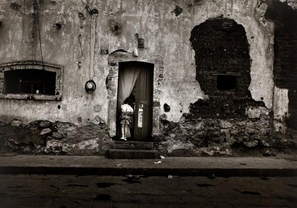 Girl at Doorway