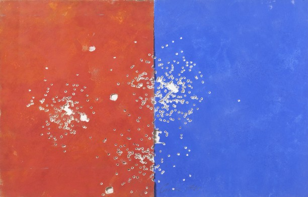 Untitled (Blue and Orange)