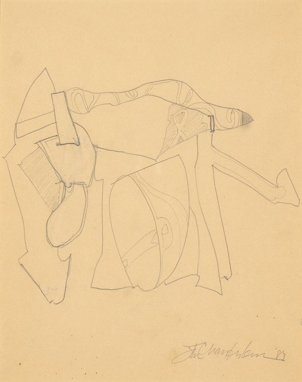 Untitled (drawing for