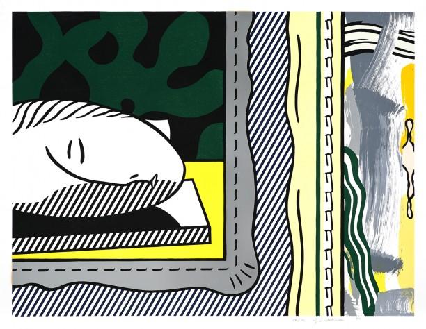 Two Paintings: Sleeping Muse
