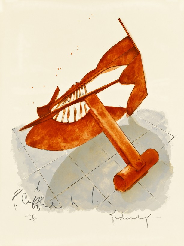 Picasso Cuflink, from Homage to ...