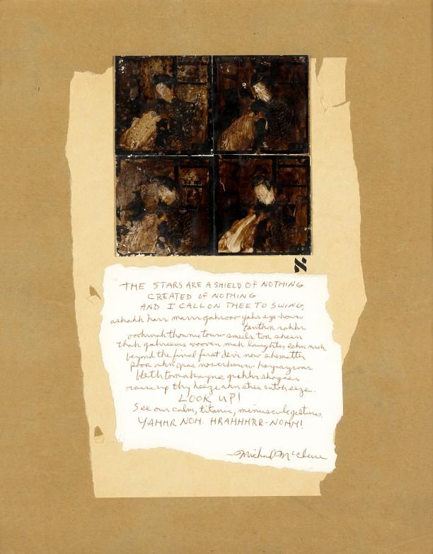 Untitled (Michael McClure Poem)