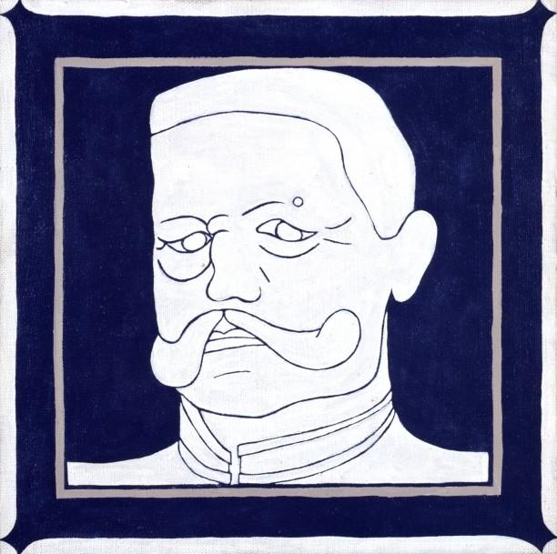 Portrait of von Hindenburg