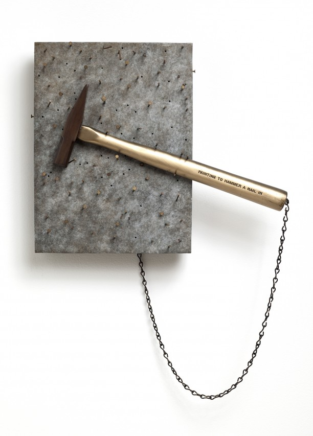 Painting to Hammer a Nail In
