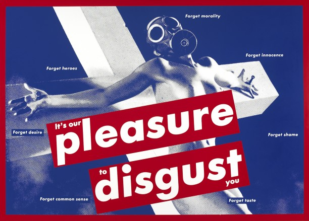Untitled (It's our pleasure to disgust you)