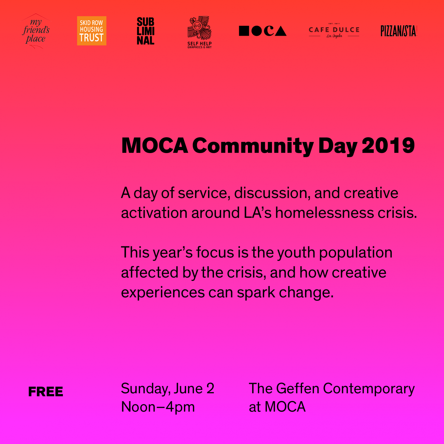 MOCA Community Day 2019