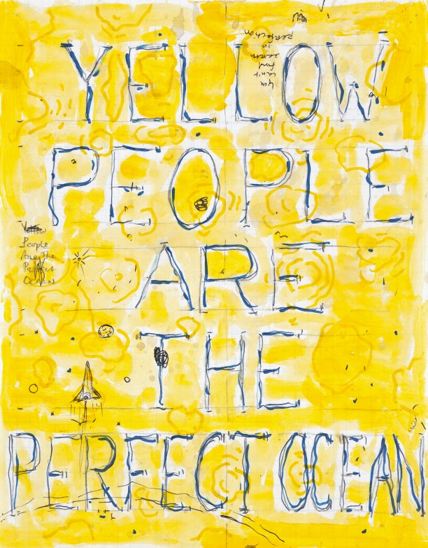 Yellow people are the perfect ocean