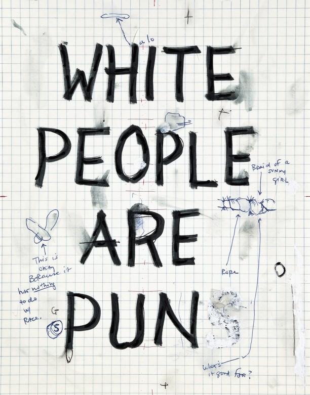 White people are pun