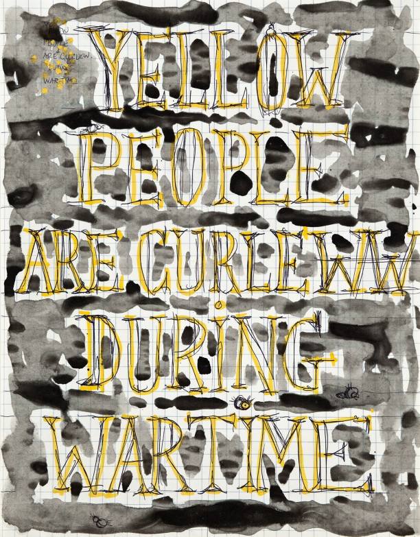 Yellow people are curleww during wartime