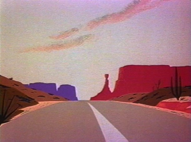 The American Desert (for Chuck Jones)