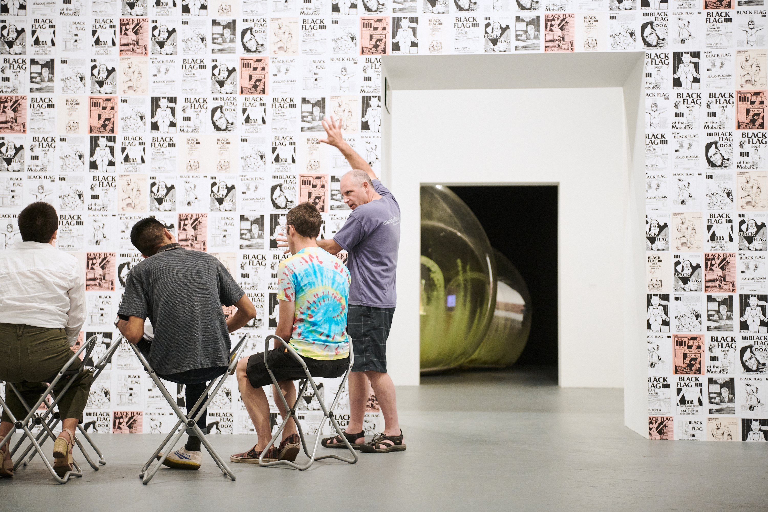 Image courtesy of The Museum of Contemporary Art, Los Angeles, photo by Sean MacGillivray.