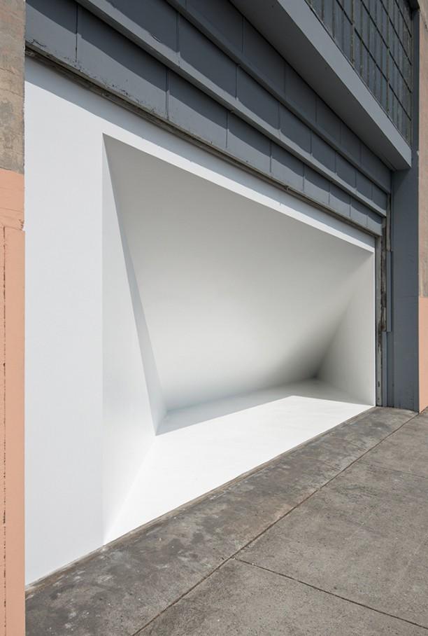 Museum Exterior Tour Bennett Simpson on The Geffen Contemporary at MOCA