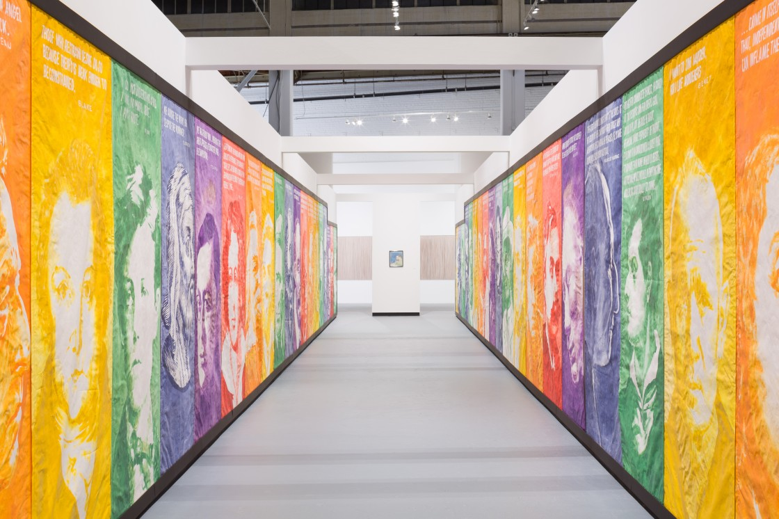 Installation view of Individuals: A Selected History of Contemporary Art