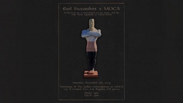 Earl Sweatshirt x MOCA