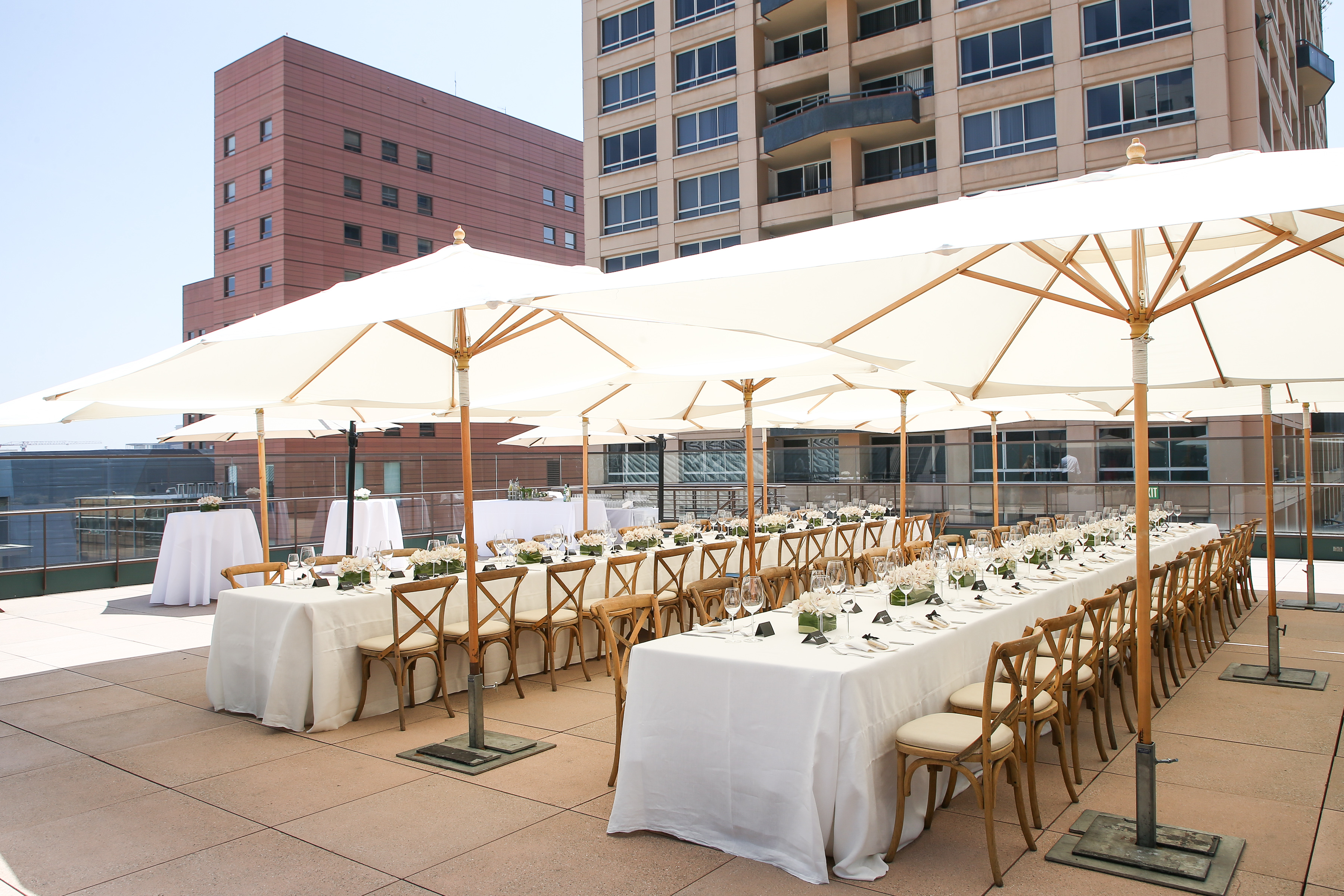 Roof Terrace, photographed by BFA, photo courtesy of Cultured Magazine