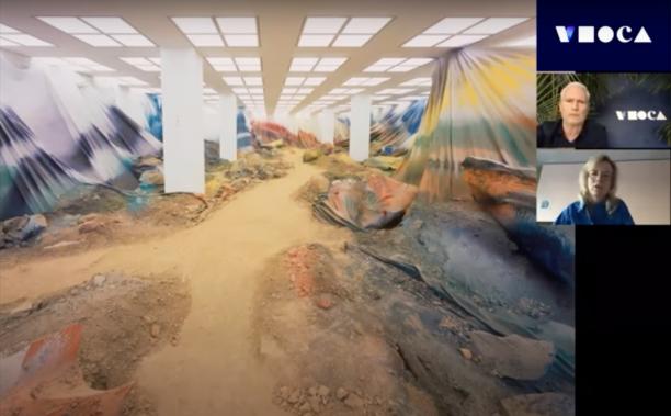 Virtual Studio Visits: Katharina Grosse