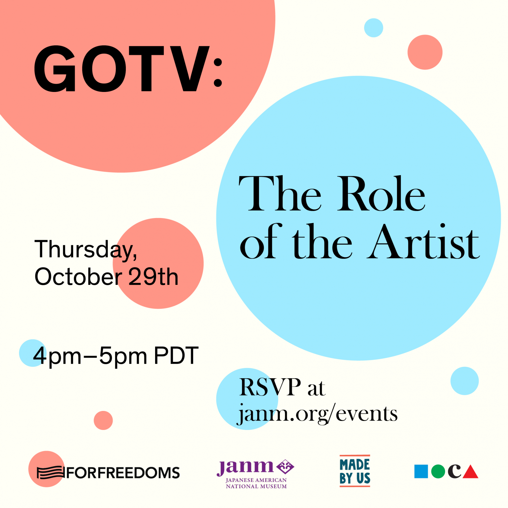 GOTV: The Role of the Artist