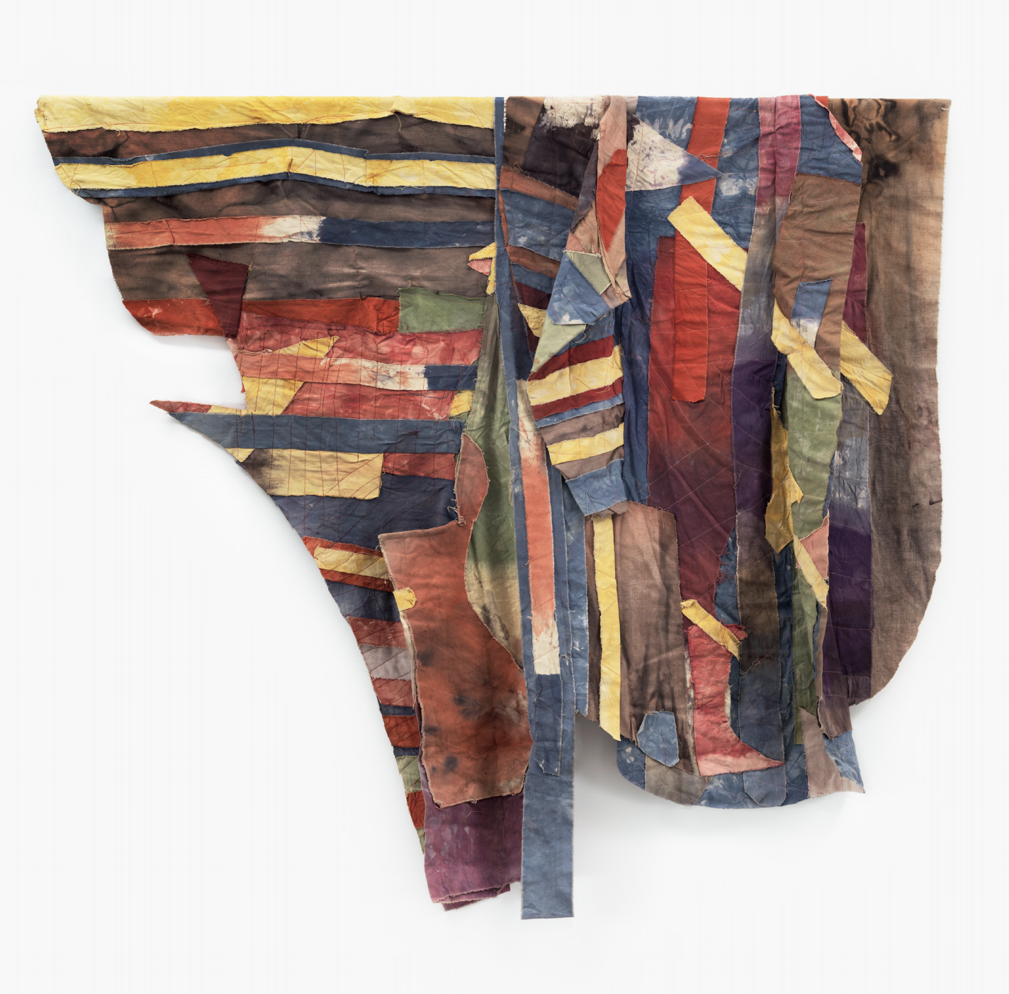 Al Loving, Untitled, 1975, mixed media on canvas, 66 × 74 in. (167.64 × 187.96 cm). Collection of Beth Rudin DeWoody